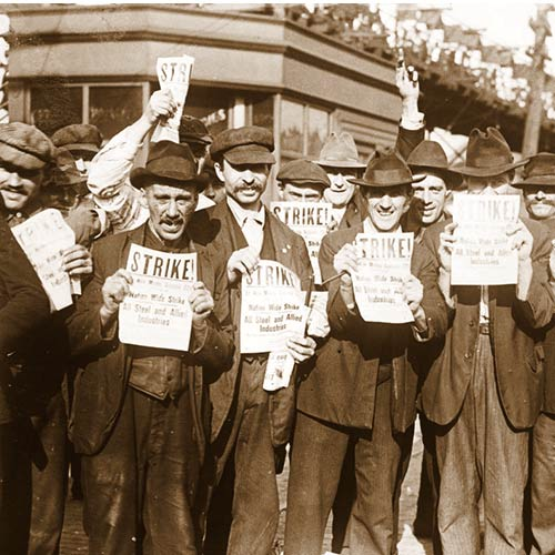 Steel Workers Strike in 1919
