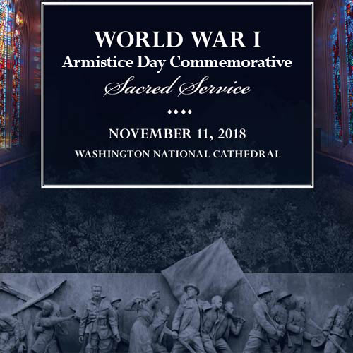 WWI Commemorative Sacred Service from Nov.11 2018