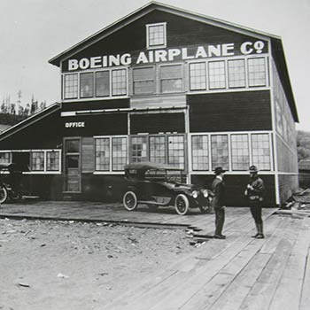 Boeing factory #1 - 1917