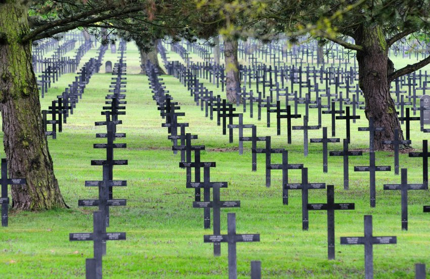 Black German war graves