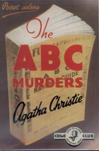HUANGThe ABC Murders First Edition Cover 1936