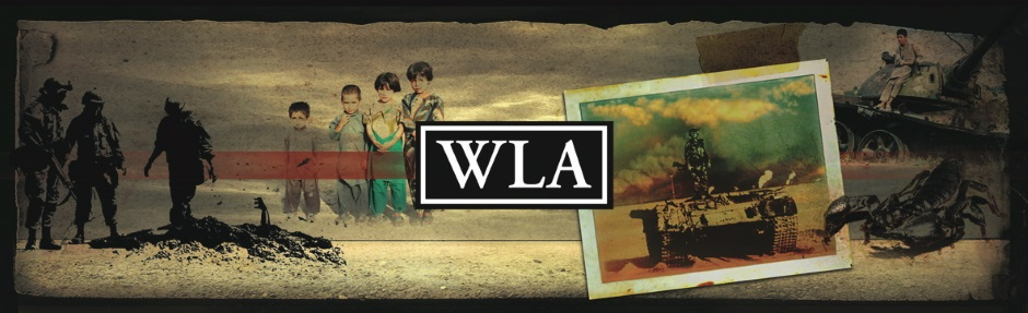 Header for journal War, Literature, and the Arts, an international journal dedicated to the artistic representation of war and military issues. James Moad is fiction editor and blogger.