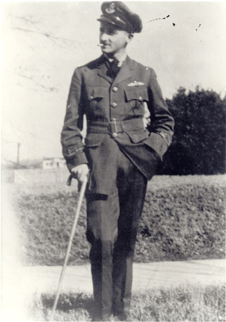 REIDWilliam Faulkner in his RAF Uniform