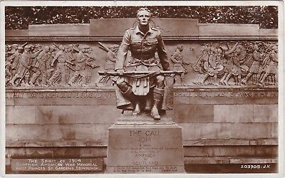 The Spirit Of 1914 Scottish American War Memorial