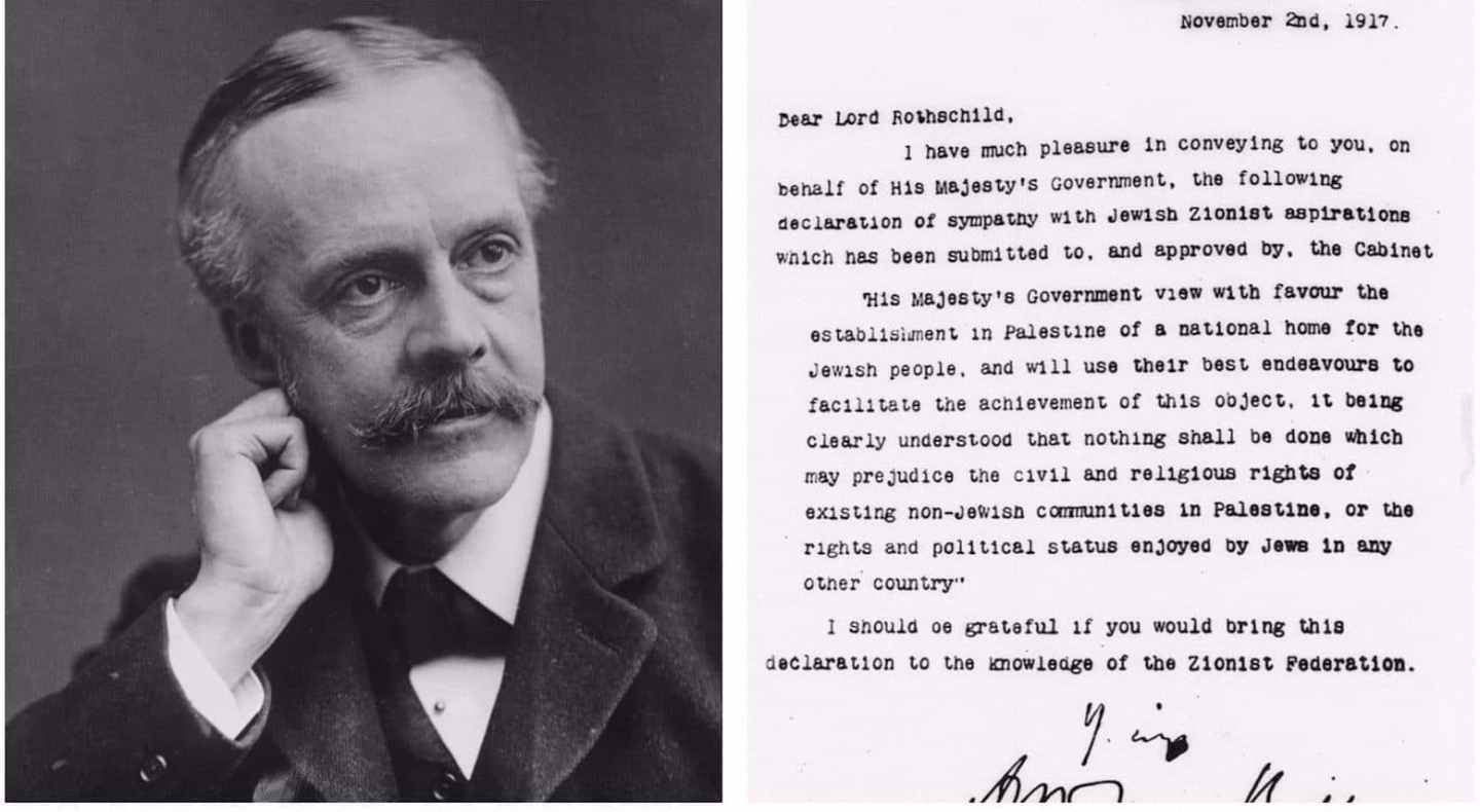 The Balfour Declaration: An Alternative History